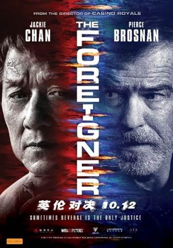 The Foreigner Australian Poster