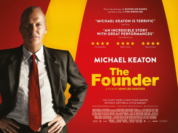 The Founder UK Poster