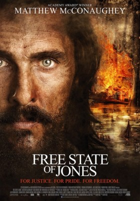 The Free State of Jones Fiery poster