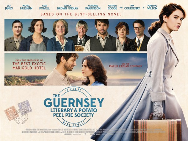 The Guernsey Literary And Potato Peel Pie Society New Film Poster