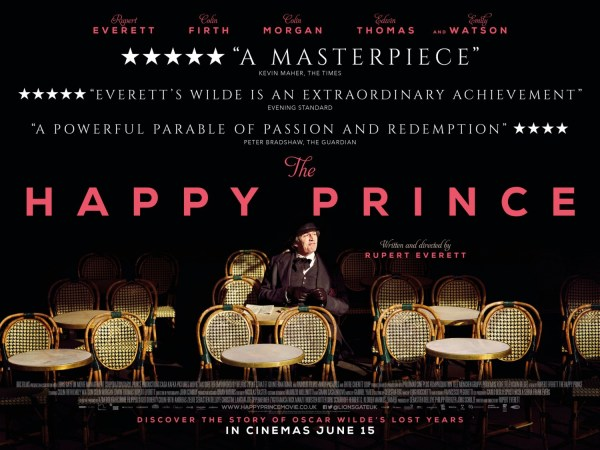 The Happy Prince UK Poster