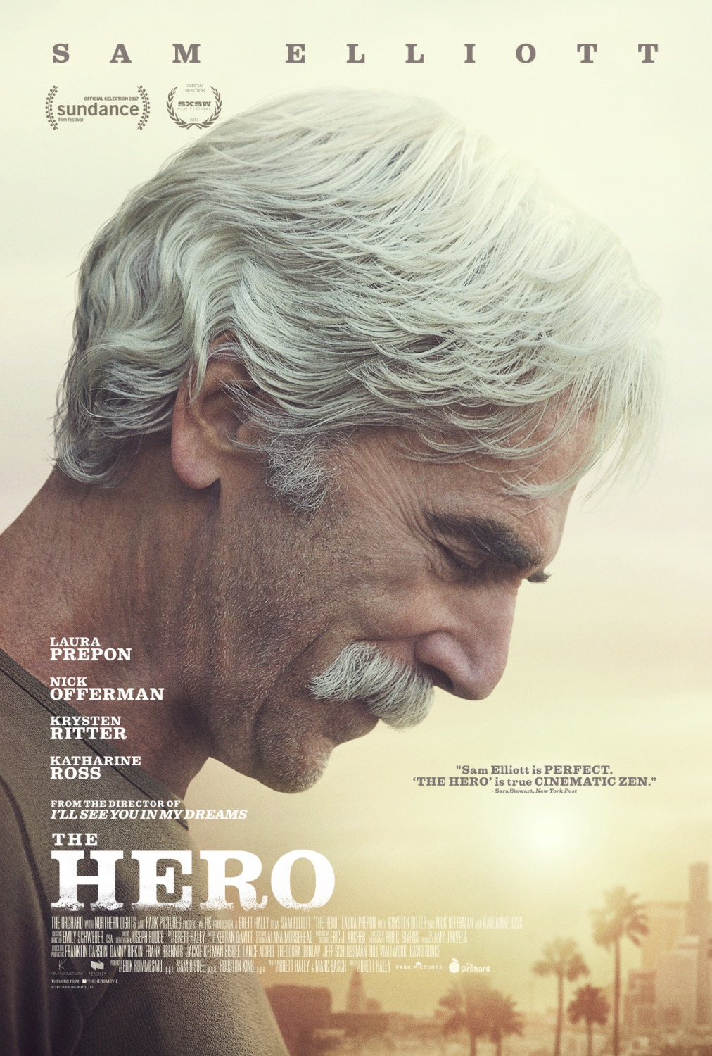 Image result for the hero sam elliott movie poster