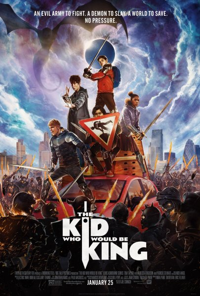 The Kid Who Would Be King New Film Poster