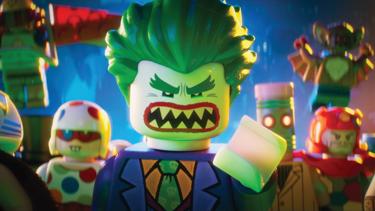 7 Clips of The Lego Batman Movie : Teaser Trailer