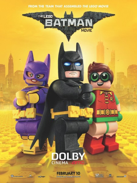 The Lego Batman Movie - Batgirl, Batman And Robin