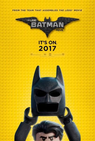The Lego Batman Movie Comic Con Poster