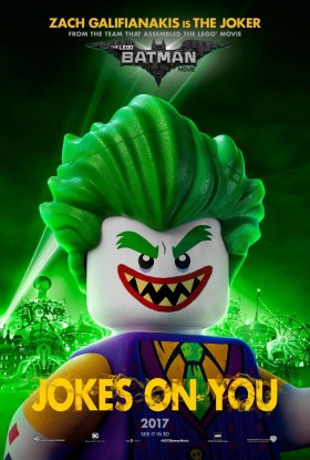 The Lego Batman Movie Character Poster  - The Joker, Jokes on you!