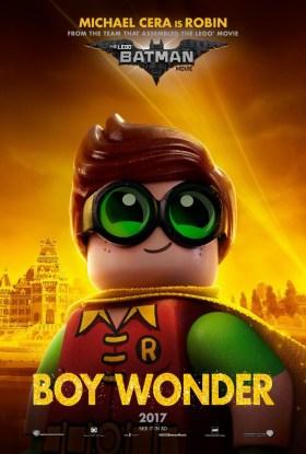 The Lego Batman Movie Character Poster - Robin, boy wonder