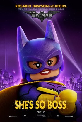The Lego Batman Movie Character Poster - Bat Girl, she's so boss!