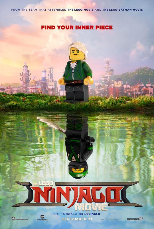 The Lego Ninjago Movie Poster : Teaser Trailer