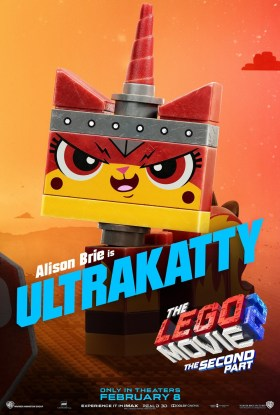 The Lego Movie 2 Character Poster - Ultrakatty