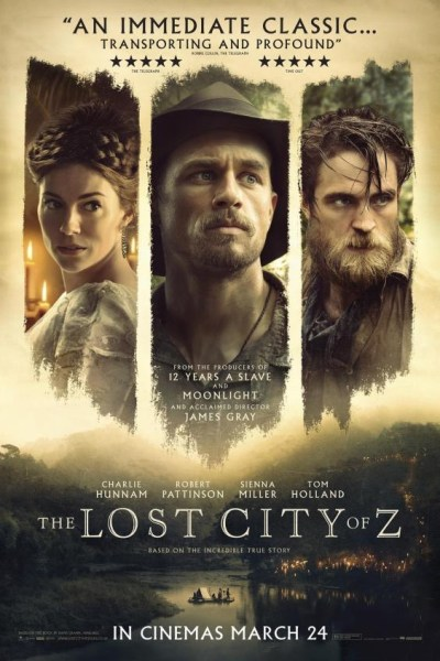 The Lost City Of Z - UK Poster