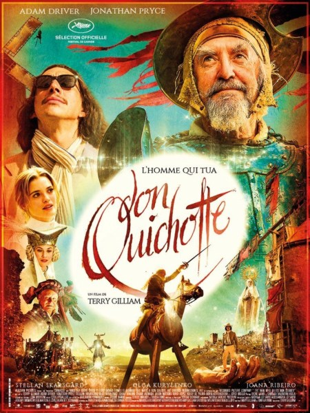 The Man Who Killed Don Quixote French Poster