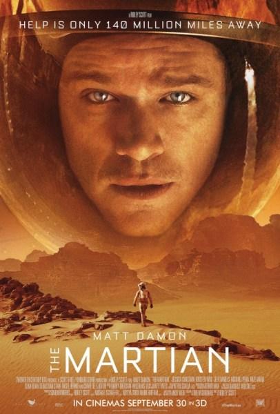 The Martian New Poster - Matt Damon