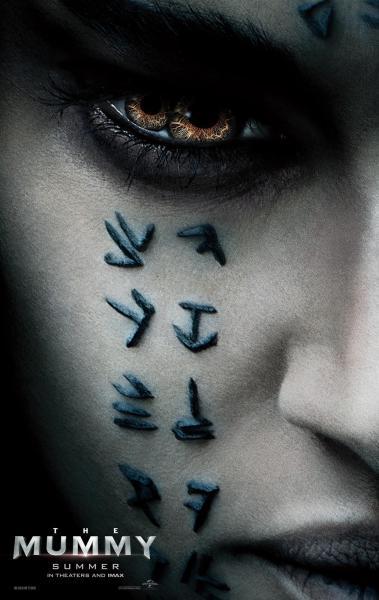 The Mummy Poster Sofia Boutella