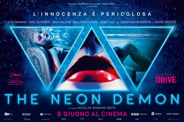 The Neon Demon - Italian poster