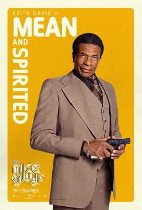 The Nice Guys - Keith David is mean and spirited
