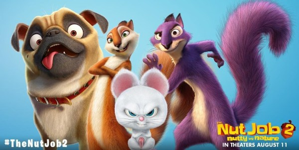 The Nut Job 2 Animated Movie 2017