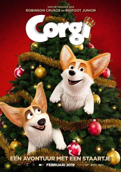 The Queen's Corgi Film Poster