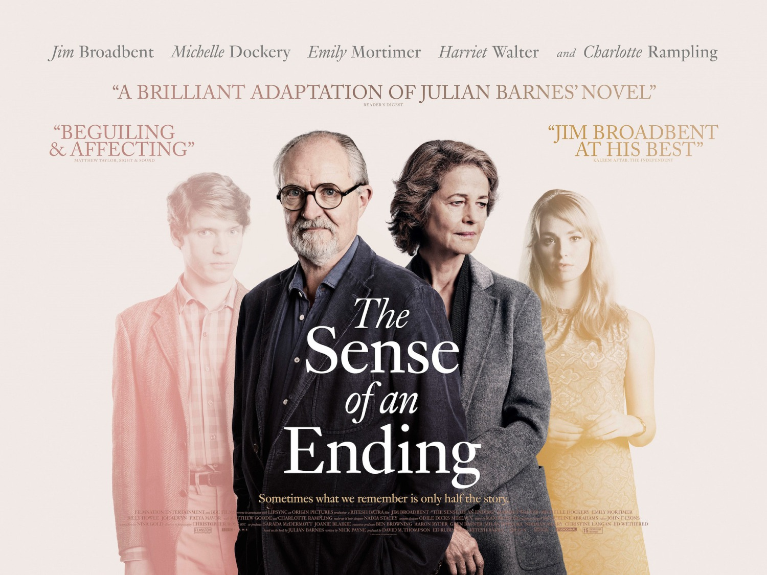 Image result for the sense of an ending film poster