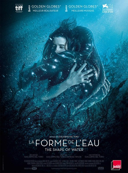 The Shape Of Water New French Poster
