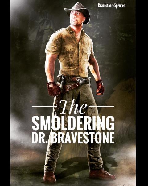 the-smoldering-dr-bravestone-jumanji-concept-art