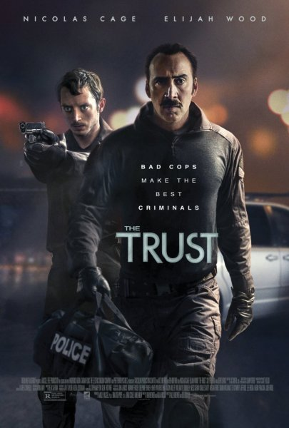 The Trust Movie Poster - Nicolas Cage and Elijah Wood