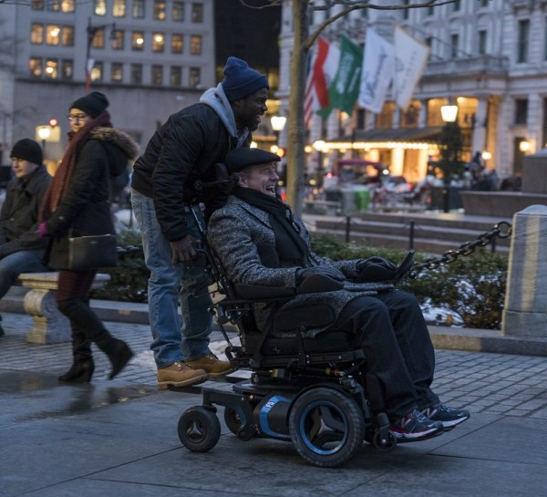The Upside Movie - Bryan Cranston and Kevin Hart