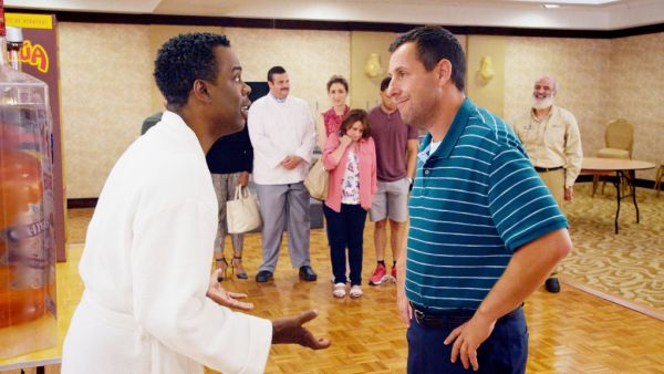 The Week Of Movie Adam Sandler And Chris Rock