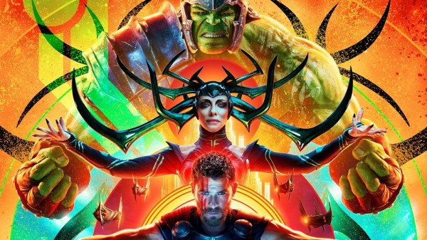 Thor Ragnarok movie - Hulk, Hela, and Thor