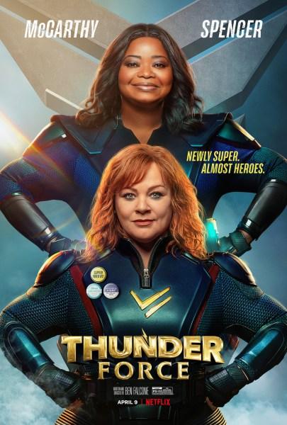 Thunder Force Movie Poster