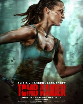 Tomb Raider Film New Poster