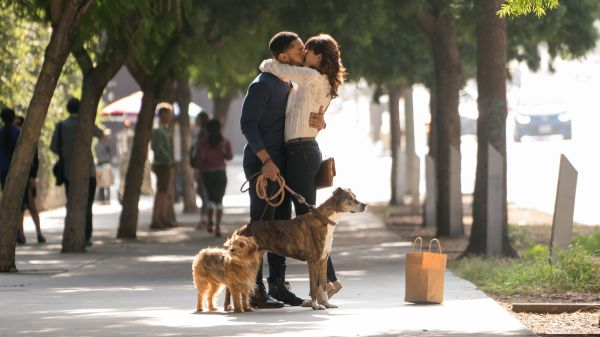 Tone Bell and Nina Dobrev - Dog Days movie