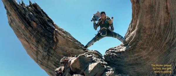 Tony Jaa Monster Hunter