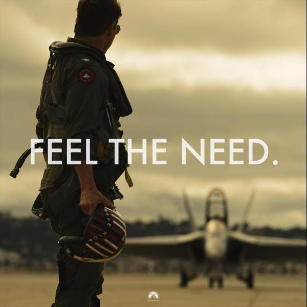 Top Gun 2 Maverick Movie - Feel the need. - Day 1