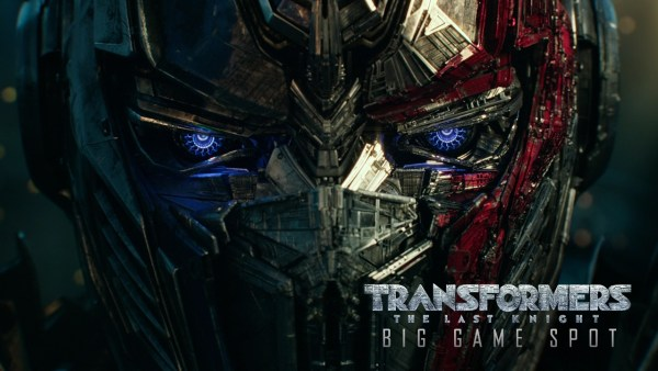 Transformers 5 The Last Knight Super Bowl LI