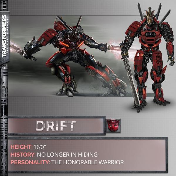 Transformers The Last Knight movie - Drift