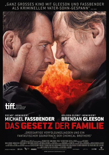 Trespass Against Us German Poster