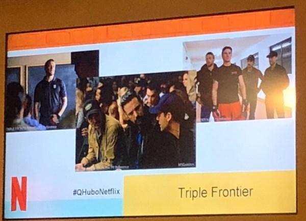 Triple Frontier Film