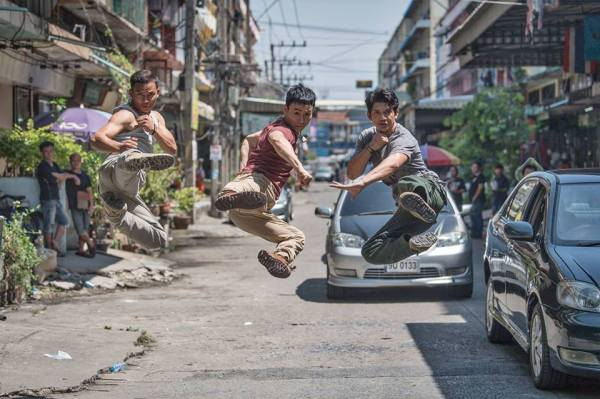 Triple Threat - Tony Jaa, Tiger Hu Chen, And Iko Uwais