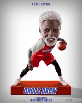 Uncle Drew Movie Character Poster - Kyrie Irving