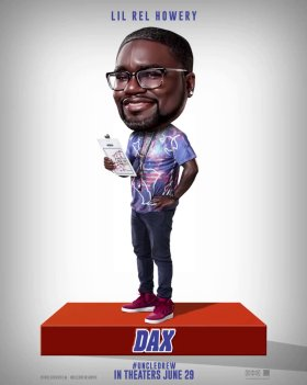 Uncle Drew Movie Character Poster - Lil Rel Howery