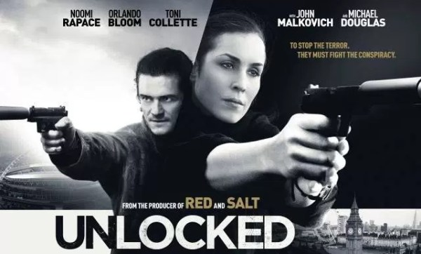 Unlocked Noomi Rapace And Orlando Bloom