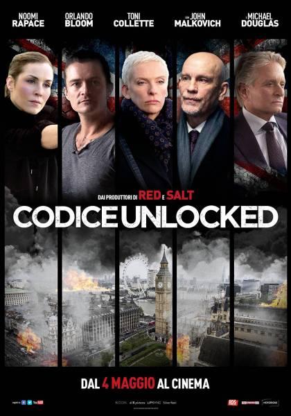 Unlocked Movie Italian Poster