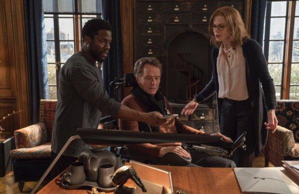 Untouchable Film -  Bryan Cranston, Kevin Hart, and Nicole Kidman