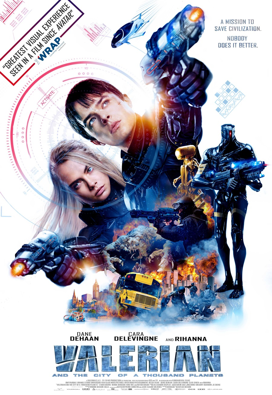 5 Clips Of Valerian And The City Of A Thousand Planets Teaser Trailer