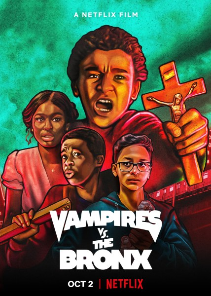 Vampires Vs The Bronx Movie Poster