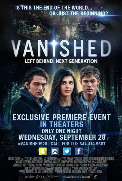Vanished movie poster