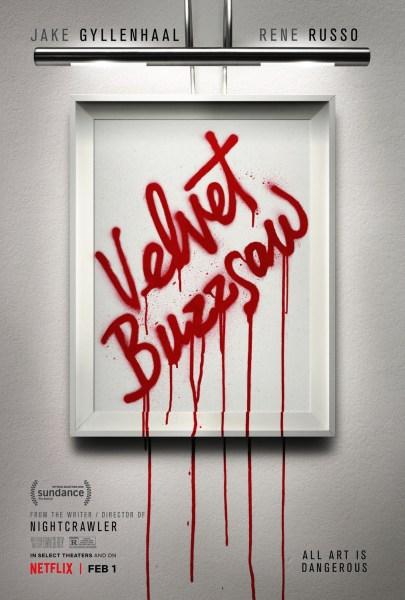 Velvet Buzzsaw Movie Poster
