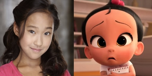 ViviAnn Yee as Staci - The Boss Baby Movie